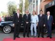 El Real Madrid al volante de sus nuevos Audi