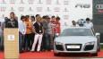 Presentación Audi A5 y R8 al Real Madrid