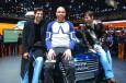 Jugadores Real Madrid en el Salón de Ginebra