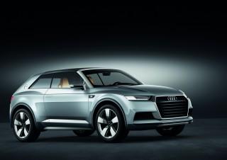 El prototipo Audi Crosslane Coupé