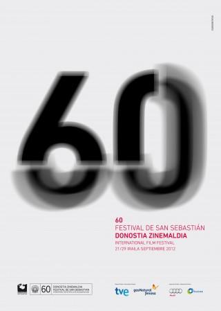 Cartel oficial Festival de San Sebastian 2012