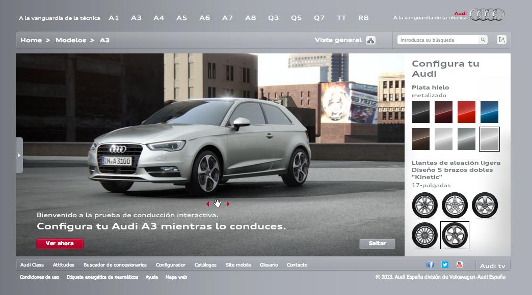 Audi españa configurador