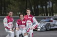 Marc Gene Lucas di grassi Oliver Jargis Audi R18 e-tron quattro