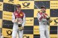 Doble triunfo de Audi en el Moscow Raceway