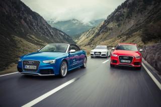 Audi Alpen Tour 2013
