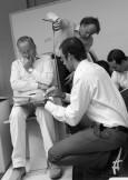Walter de Silva y Audi diseñan un sillón en colaboración con Poltrona Frau