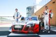 El campeón del mundo de rallies con un Audi R8 LMS
