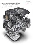 Potencia y eficiencia: el nuevo motor V6 3.0 TDI de Audi