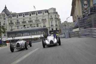 "Audi Tradition en Mónaco con las ""Flechas de Plata"""