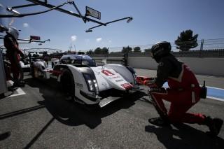 Audi preparada para Le Mans