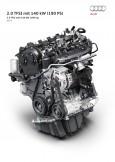 Nuevo motor 2.0 TFSI de alta eficiencia