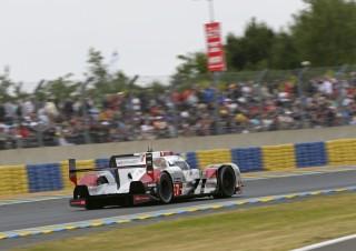 Audi tercera posicion en Le Mans con el R18 etron quattro