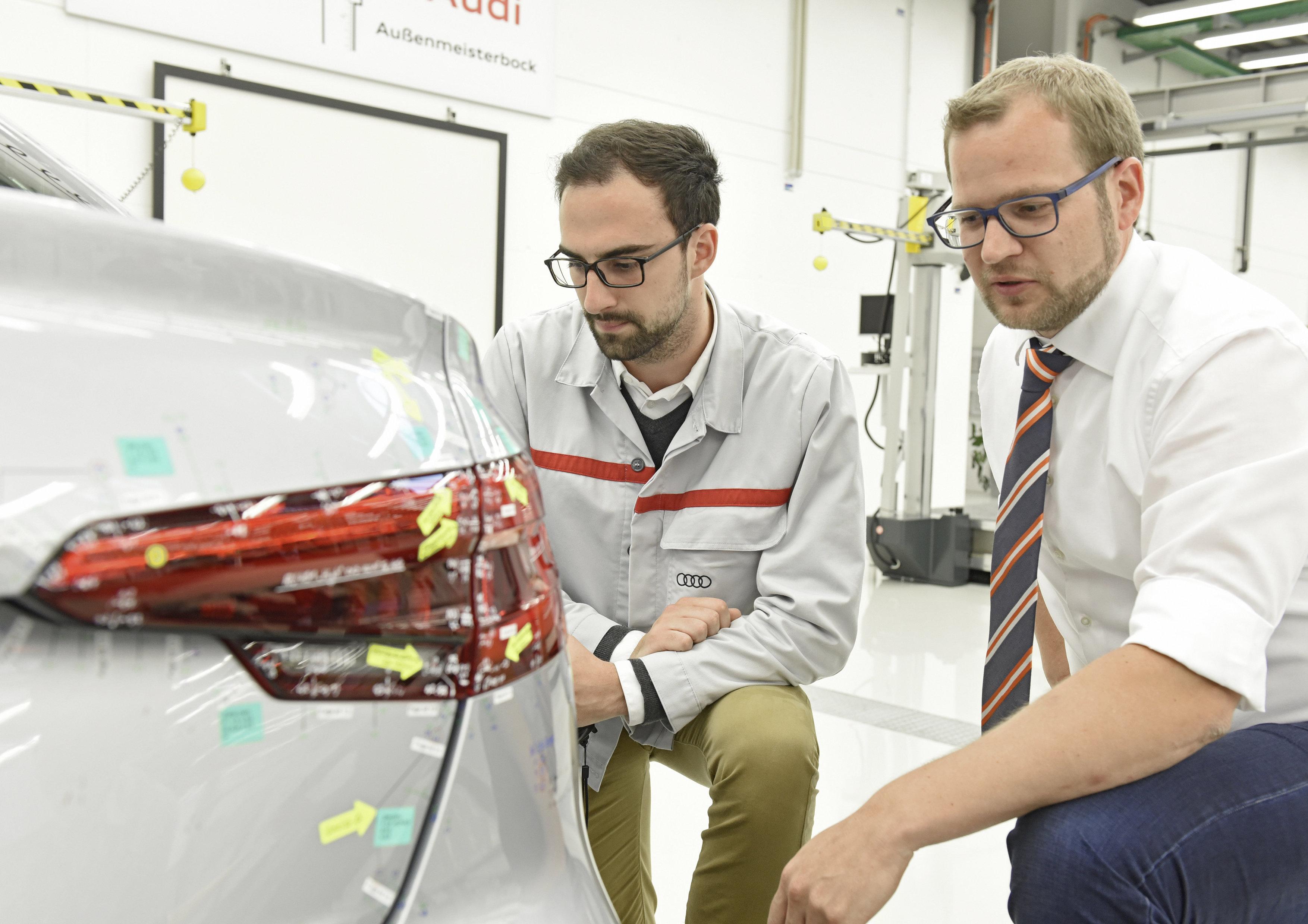 Quality Assurance â?? exterior master jig Audi A4 Sedan