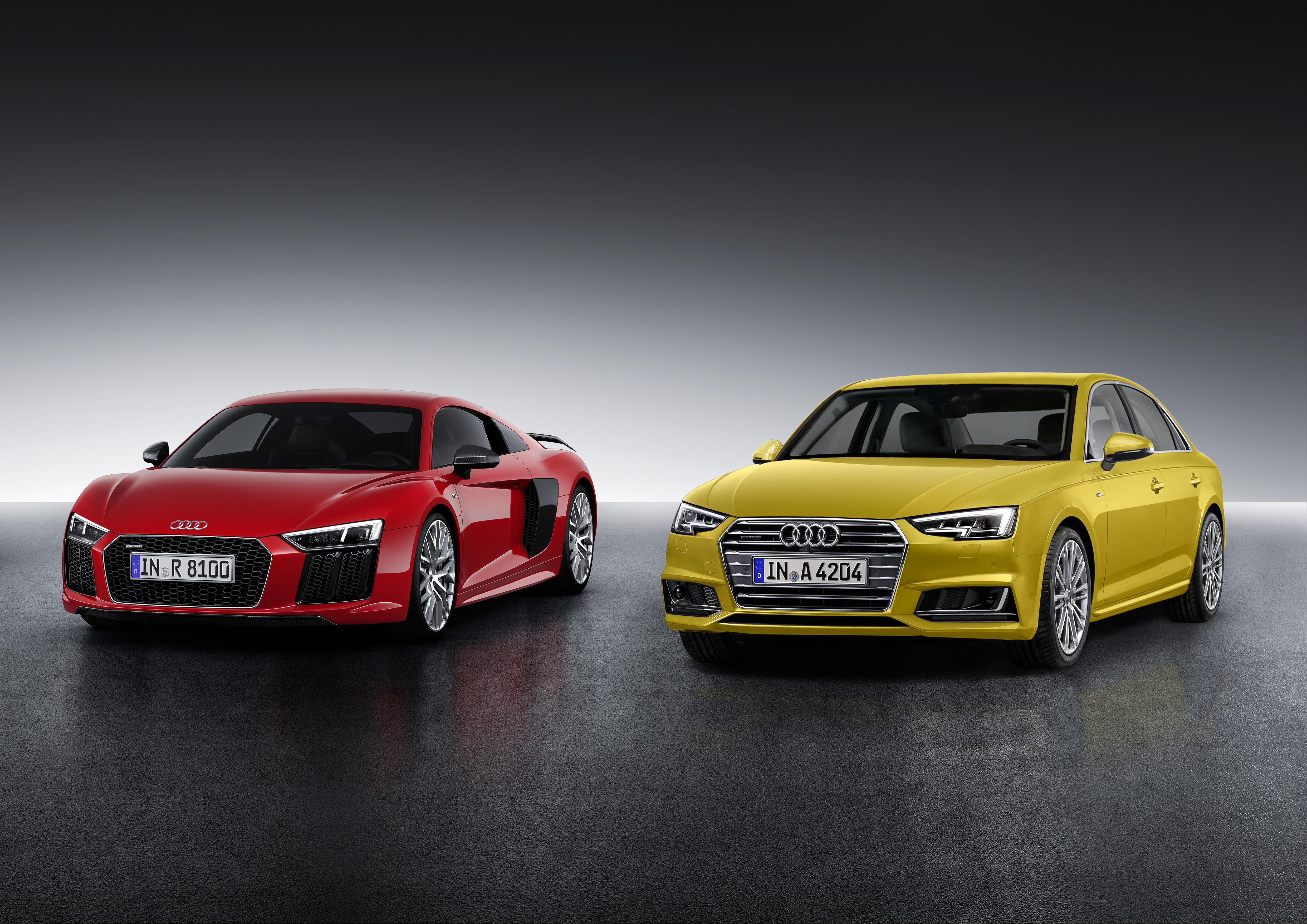 Premios Volante de Oro para los nuevos  Audi A4 y Audi R8
