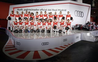 Entrega vehículos Audi al Real Madrid 2016-17