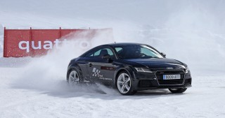 Audi Winter driving experience 2017