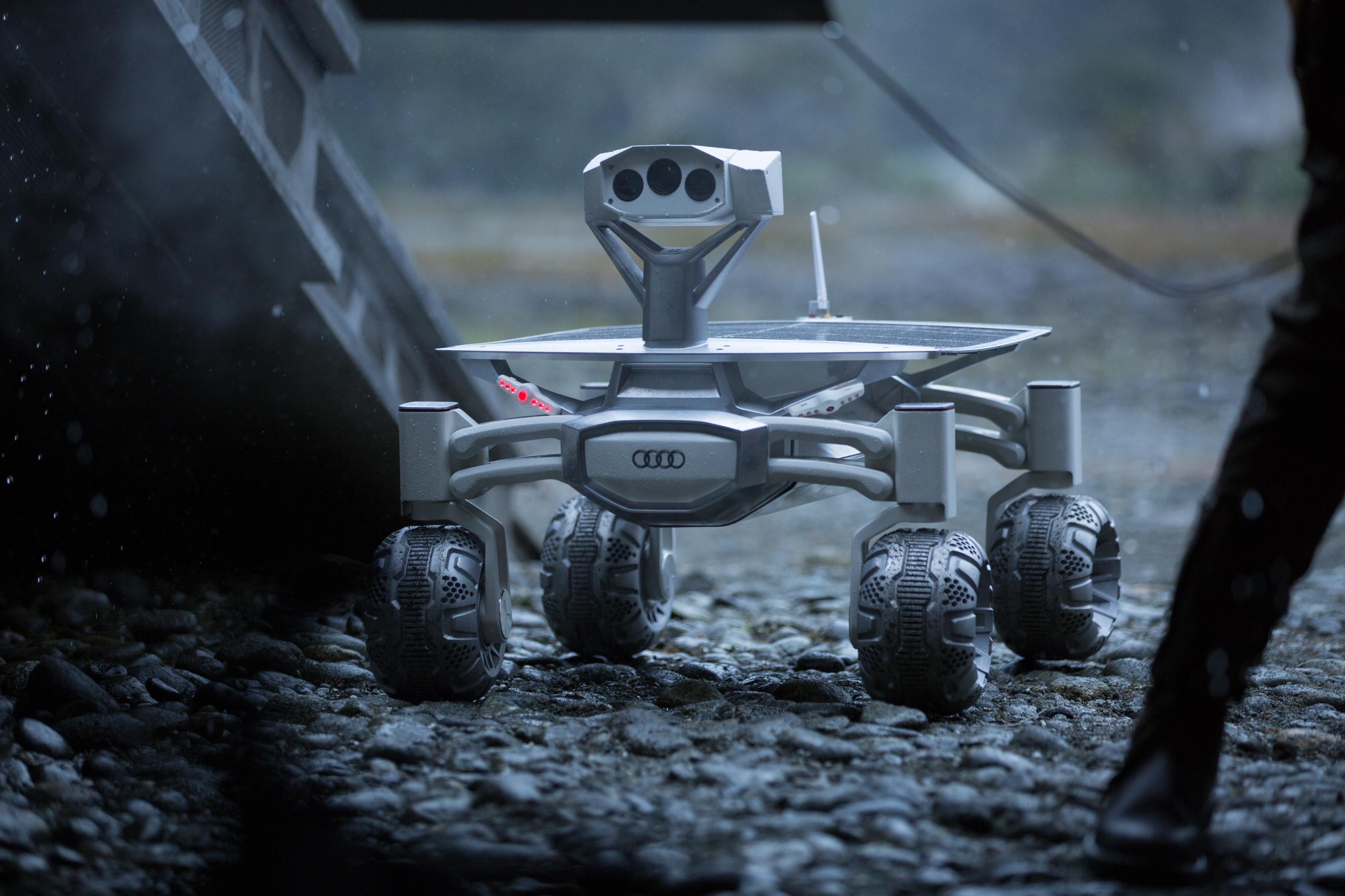Moon rover Audi lunar quattro featured in â??Alien: Covenantâ?