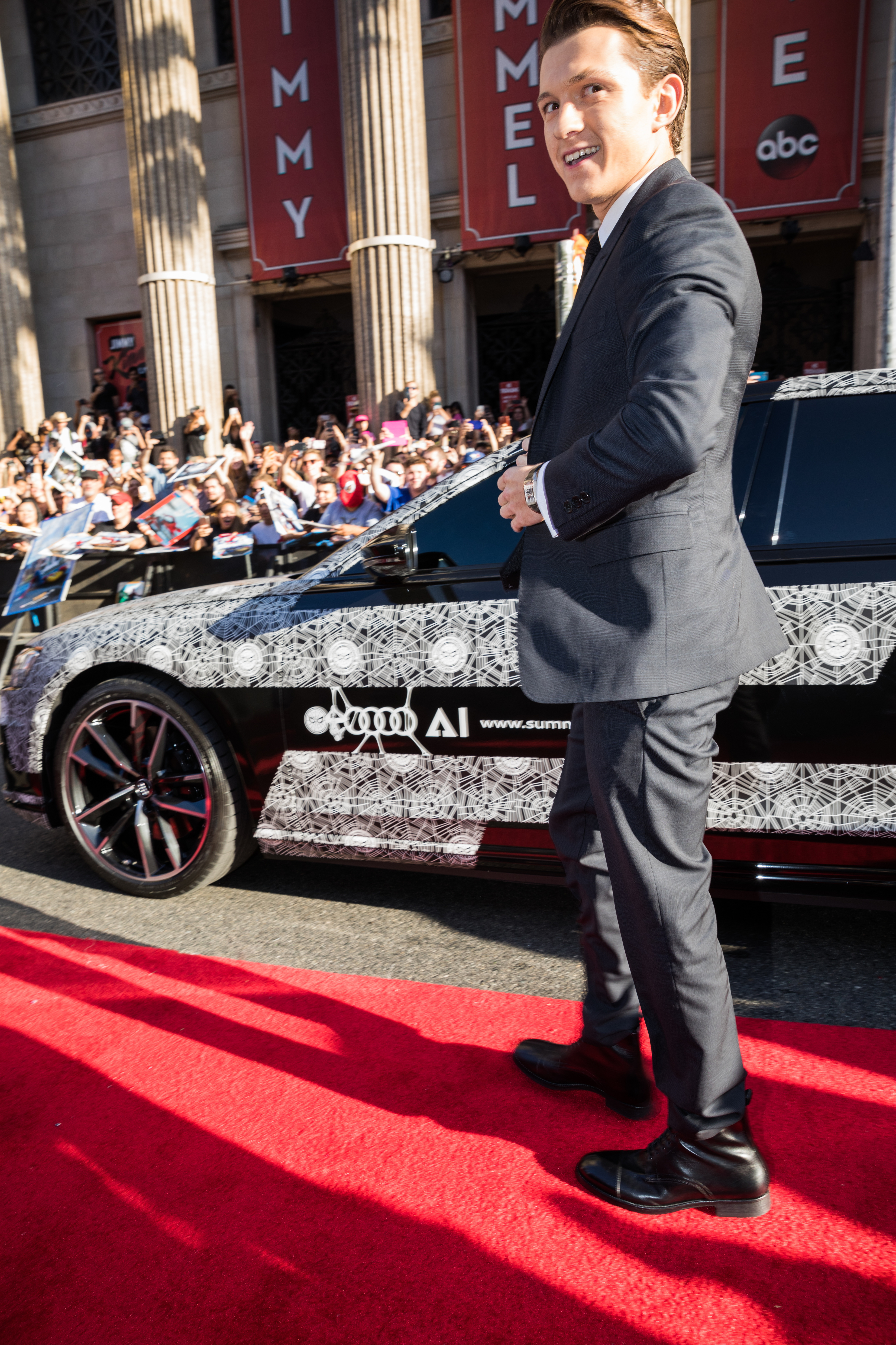Audi at the world premiere of â??Spider-Man: Homecomingâ??