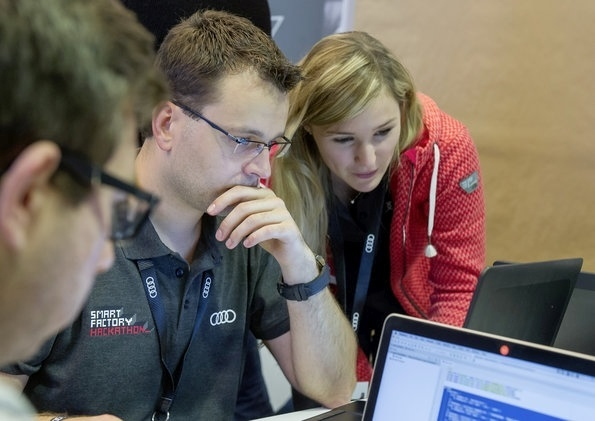 Smart Factory Hackathon: coding for Audiâ??s production of the f