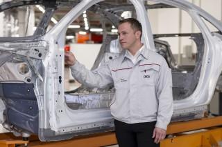 Audi A8 Body shop