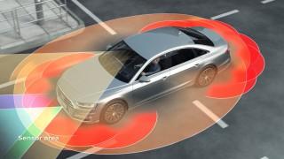 Audi A8 escaner laser