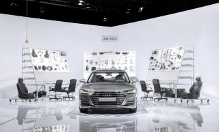 Audi at Design Miami: exclusive experience of the stages of tech