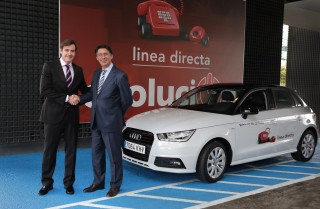 Entrega flota Audi A1 Linea Directa