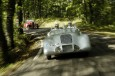 Audi Tradition in an Auto Union Silver Arrow  at the silver jubi