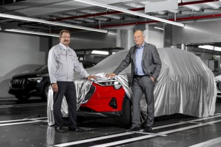 Start of production of the Audi e-tron