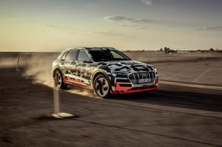 Audi e-tron prototype en Namibia_1