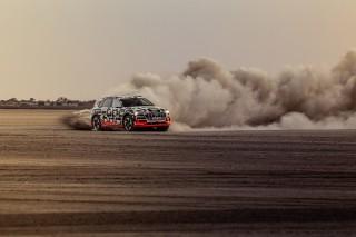 Audi e-tron prototype en Namibia_10