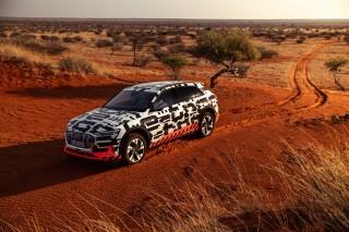 Audi e-tron prototype en Namibia_2