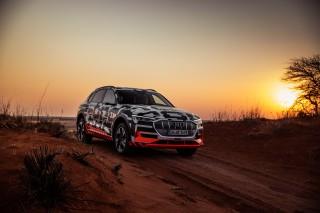 Audi e-tron prototype en Namibia_37