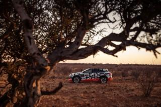 Audi e-tron prototype en Namibia_38