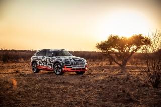 Audi e-tron prototype en Namibia_39