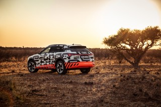 Audi e-tron prototype en Namibia_41