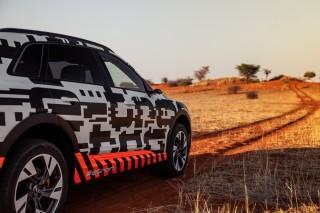 Audi e-tron prototype en Namibia_42