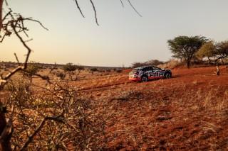 Audi e-tron prototype en Namibia_43