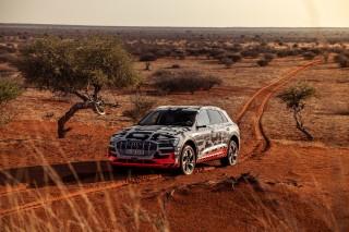 Audi e-tron prototype en Namibia_47