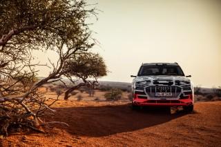 Audi e-tron prototype en Namibia_48