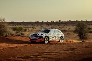 Audi e-tron prototype en Namibia_49