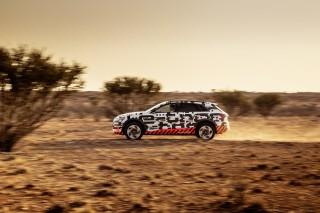 Audi e-tron prototype en Namibia_53