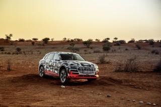 Audi e-tron prototype en Namibia_57