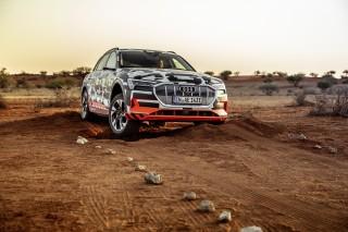 Audi e-tron prototype en Namibia_58