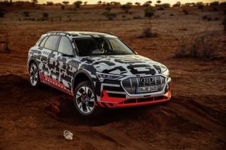 Audi e-tron prototype en Namibia_59