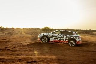 Audi e-tron prototype en Namibia_62