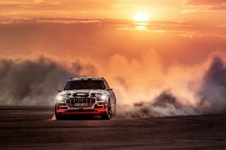 Audi e-tron prototype en Namibia_7