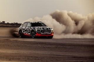 Audi e-tron prototype en Namibia_9