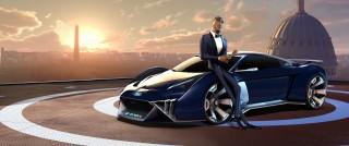 Audi diseña el primer concept car para una pelicula animada