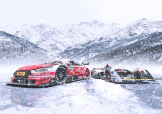 GP Ice Race 2019: Audi RS 5 DTM, Audi e-tron FE04